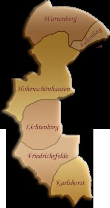 Berlin-Karte Lichtenberg