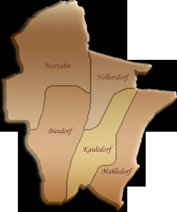 Berlin-Karte Marzahn-Hellersdorf