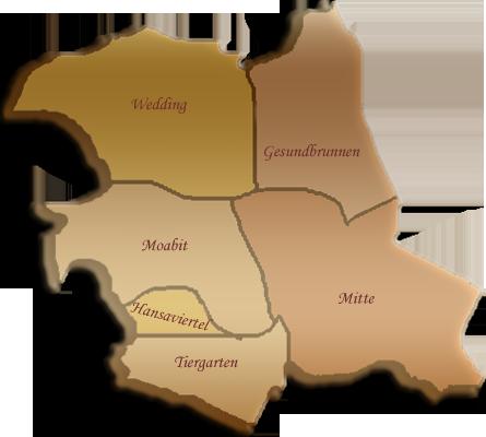 Berlin-Karte Mitte